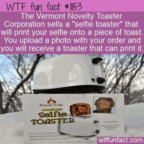 WTF Fun Fact - Selfie Toaster