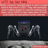 WTF Fun Fact – Spider Robots On The Moon