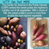WTF Fun Fact – Top Ranked Sweet Potato