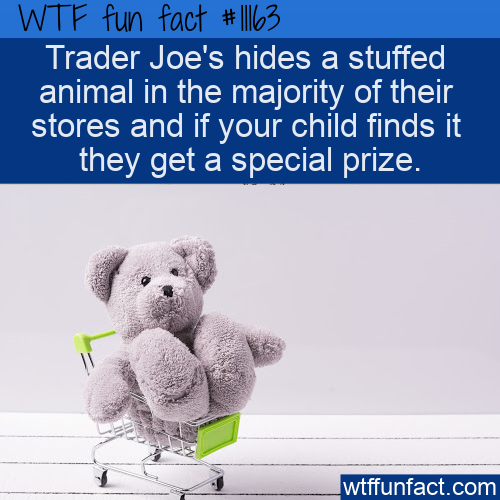 WTF Fun Fact - Trader Joe's Hidden Secret