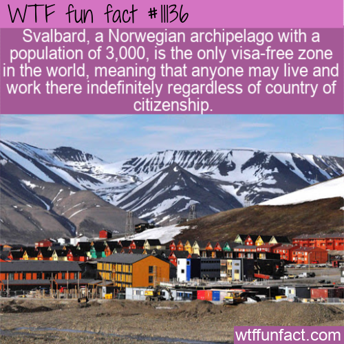 WTF Fun Fact - Visa-Free Zone