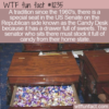 WTF Fun Fact – Candy Desk Tradition