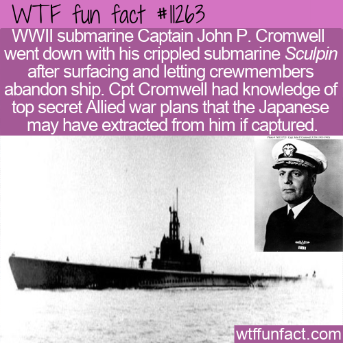 WTF Fun Fact - Captain John Philip Cromwell