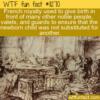 WTF Fun Fact – French Royalty Public Birth