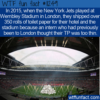 WTF Fun Fact – New York Jets Travelling Toilet Paper