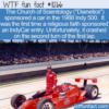 WTF Fun Fact – Scientology IndyCar