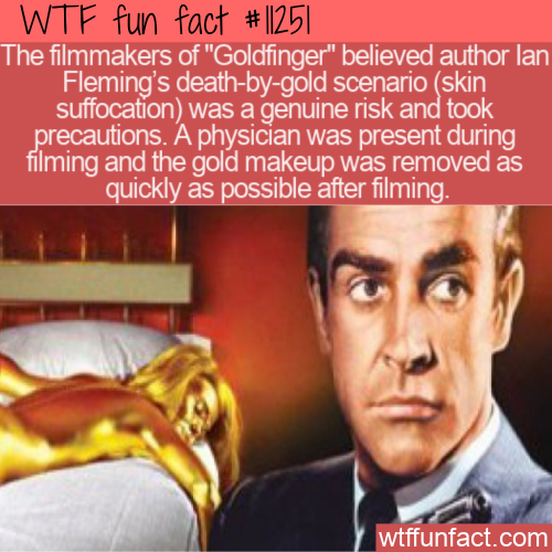 WTF Fun Fact - Skin Suffocation