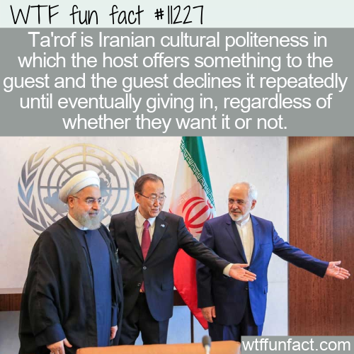 WTF Fun Fact - Ta'rof