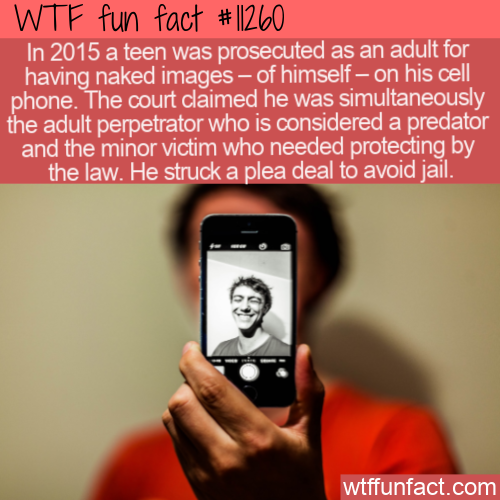 WTF Fun Fact - Teen Predator Of Himself