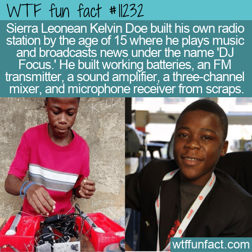 WTF Fun Fact - Young Sierra Leonean DJ Focus