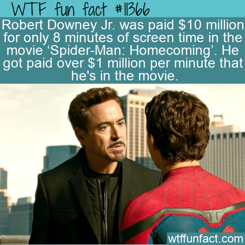 WTF Fun Fact - $10 Million In 8 Minutes