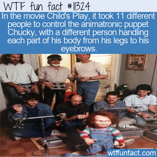 WTF Fun Fact - 11 People For 1 Chucky