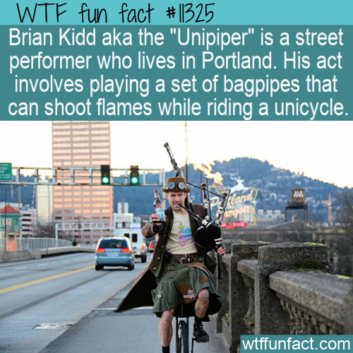 WTF Fun Fact - Brian Kidd the Unipiper