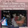 WTF Fun Fact – Cee Lo Green Sang On Waterfalls