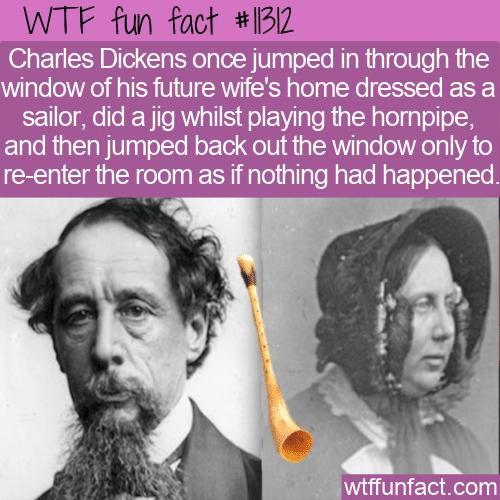 WTF Fun Fact - Charles Dickens Prank
