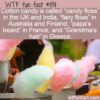 WTF Fun Fact – Cotton Candy Names