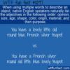 WTF Fun Fact – English Adjective Order