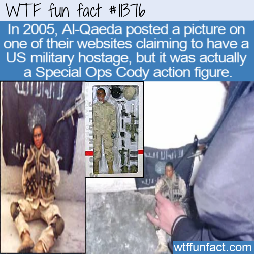 WTF Fun Fact - Fake Hostage