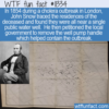 WTF Fun Fact – How To Stop A Cholera Outbreak