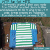 WTF Fun Fact – World's Largest T-Shirt