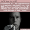 WTF Fun Fact – Most Expensive Tooth