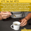 WTF Fun Fact – Most Popular Psychoactive Drug