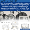WTF Fun Fact – Paul Brown's Squeeze Bottle Valve