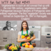 WTF Fun Fact – Pythagorean Then Vegetarian