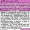 WTF Fun Fact – She Can Bite Your Nose Off