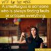 WTF Fun Fact – Smellfungus