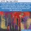 WTF Fun Fact – Stolen $1 Million Painting Found On Curb