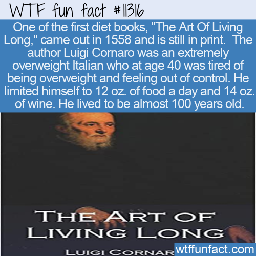 WTF Fun Fact - The Art Of Living Long