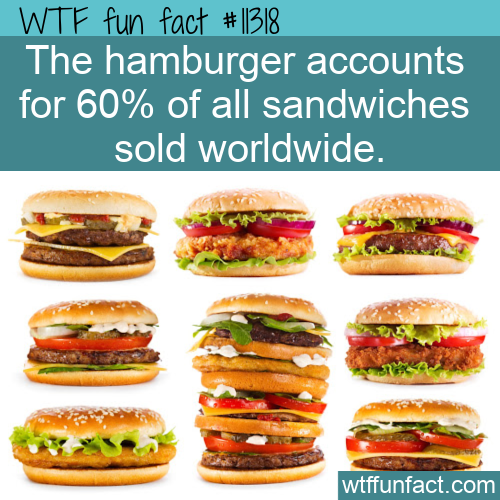 WTF Fun Fact - The Burger (Is) King