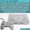 WTF Fun Fact – The Nintendo Sony Game Player