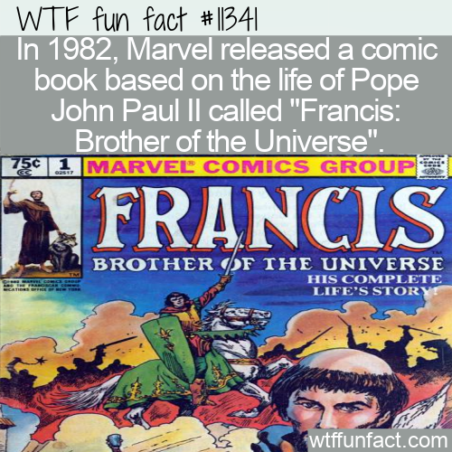 WTF Fun Fact - The Pope John Paul II Comic Book