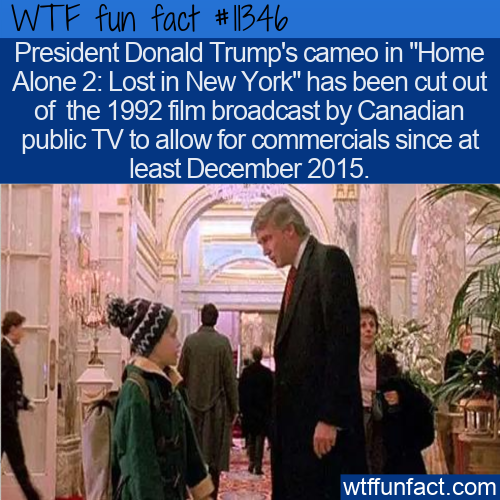 WTF Fun Fact - Trump Cameo Cut In Home Alone 2