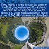 WTF Fun Fact – Tunnel Through Earth