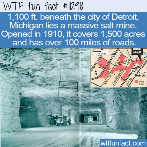 WTF Fun Fact - Underground Salt City