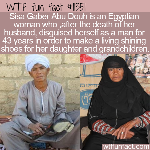 WTF Fun Fact - Woman Spent 43 Years Disguised As A Man