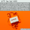 WTF Fun Fact – 185 TB Cassette Tape