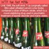 WTF Fun Fact – Bib-Label Lithiated Lemon-Lime Soda