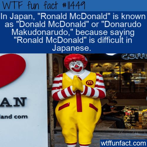 WTF Fun Fact - Donald McDonald