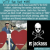 WTF Fun Fact -Jack Ass Sues MTV