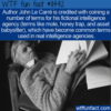 WTF Fun Fact – Le Carré's Spy Terms