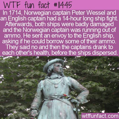 WTF Fun Fact - Peter Tordenskold