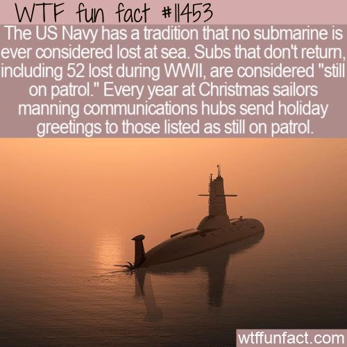 WTF Fun Fact - Still On Patrol