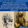 WTF Fun Fact – Teddy's Bear