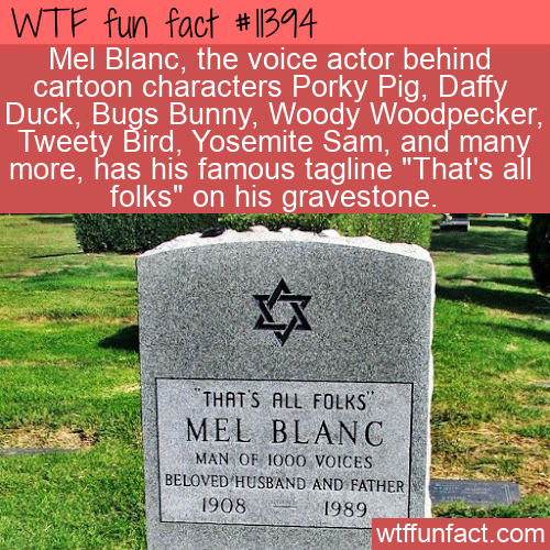 WTF Fun Fact - That's All Folks