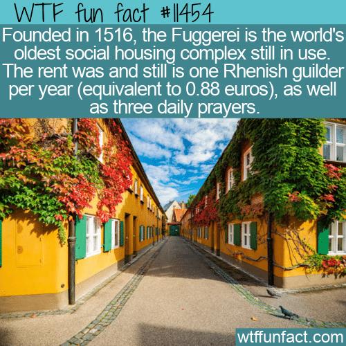 WTF Fun Fact - The Fuggerei
