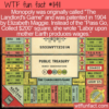 WTF Fun Fact – The Landlord's Game